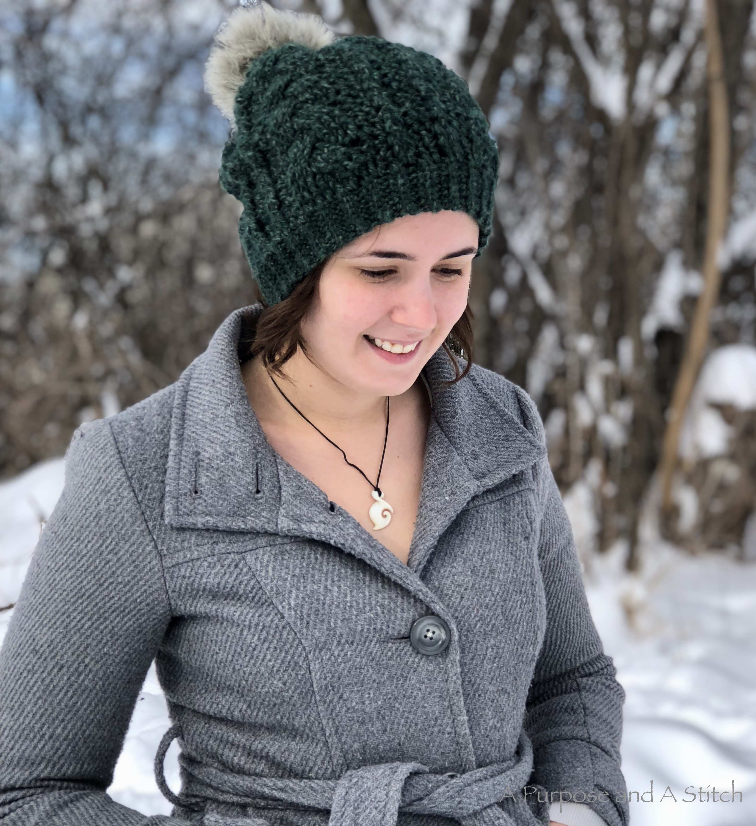 The Murphy Slouchy Beanie- Free Pattern