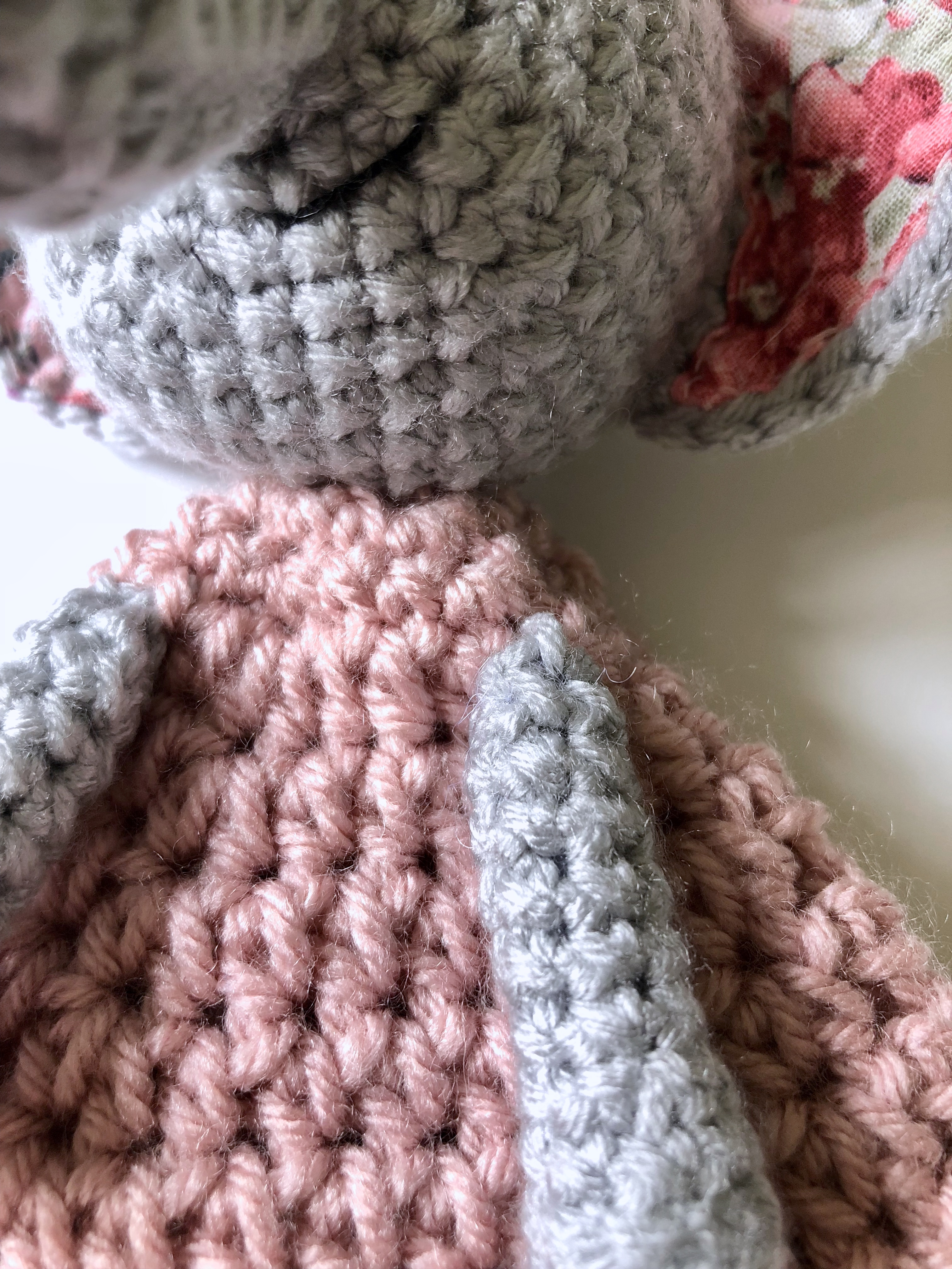 Ellie The Elephant Lovey Free Pattern A Purpose And A Stitch