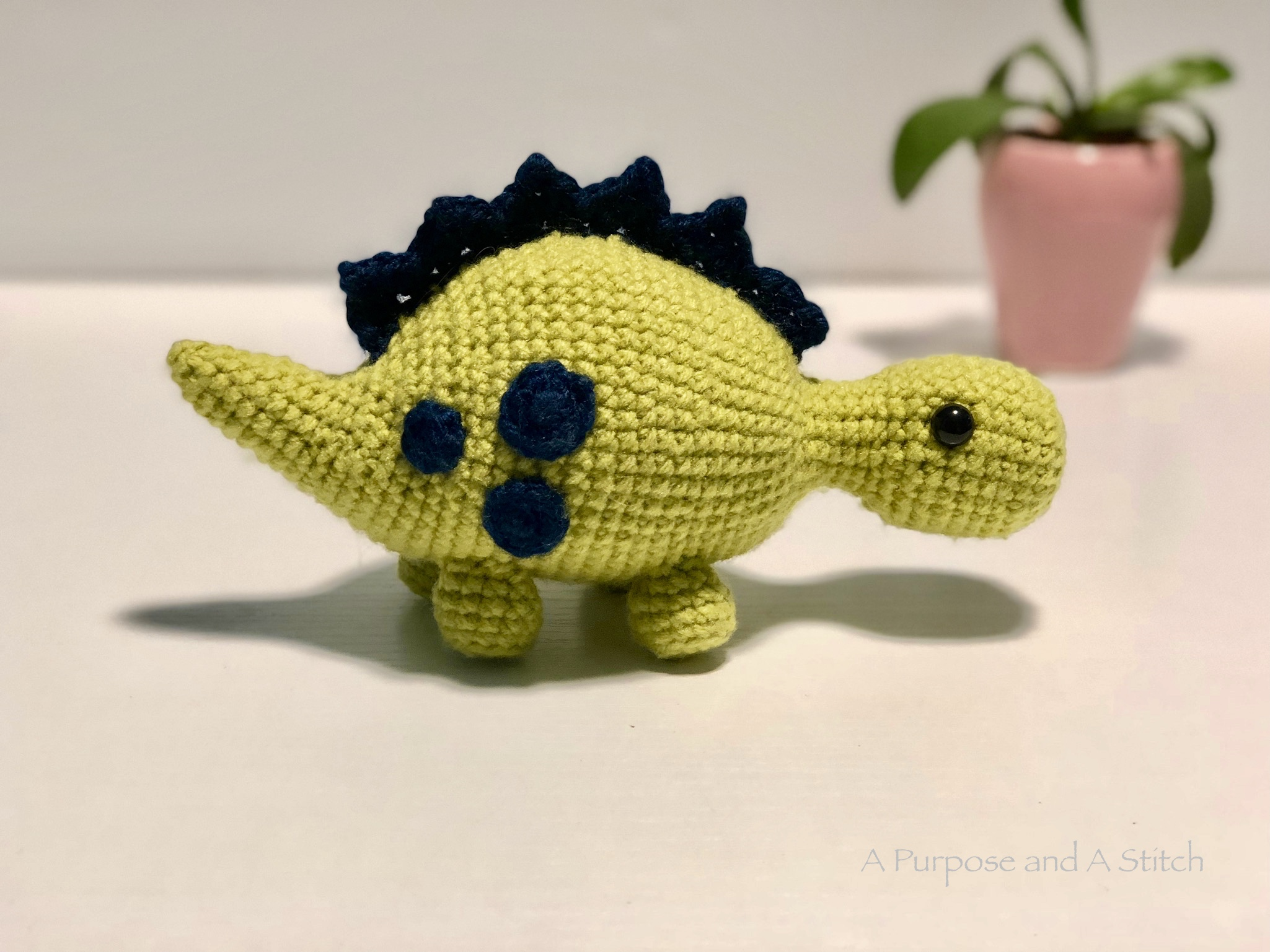 Greg the Steg- A Free Amigurumi Pattern