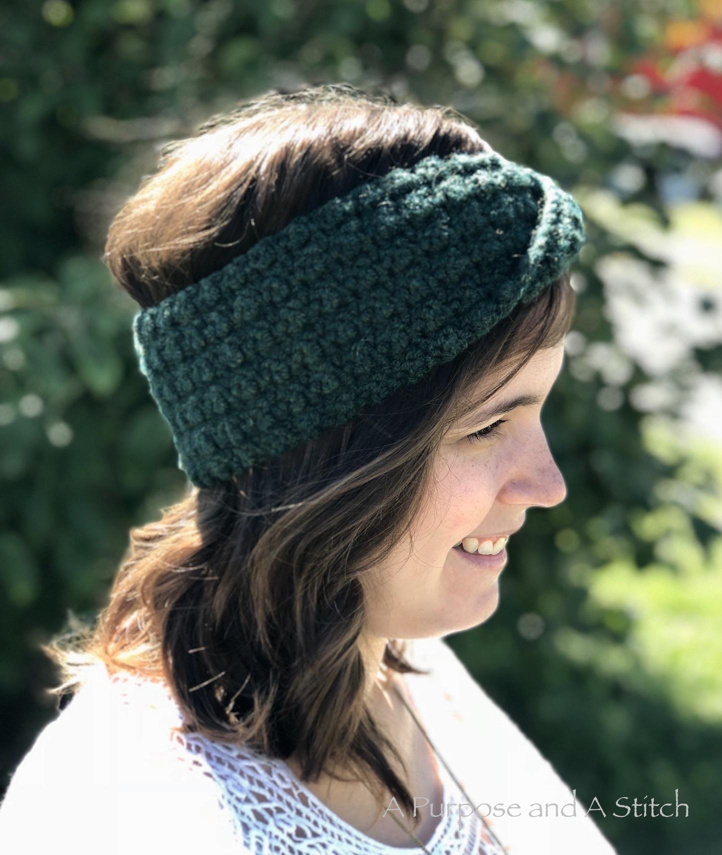 Twisted Seed Headband A Purpose And A Stitch
