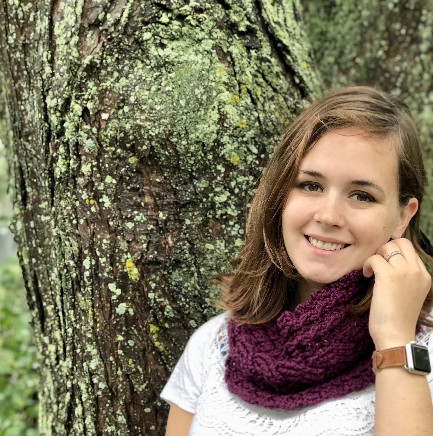 Cozy Cabled Cowl- Blog Post