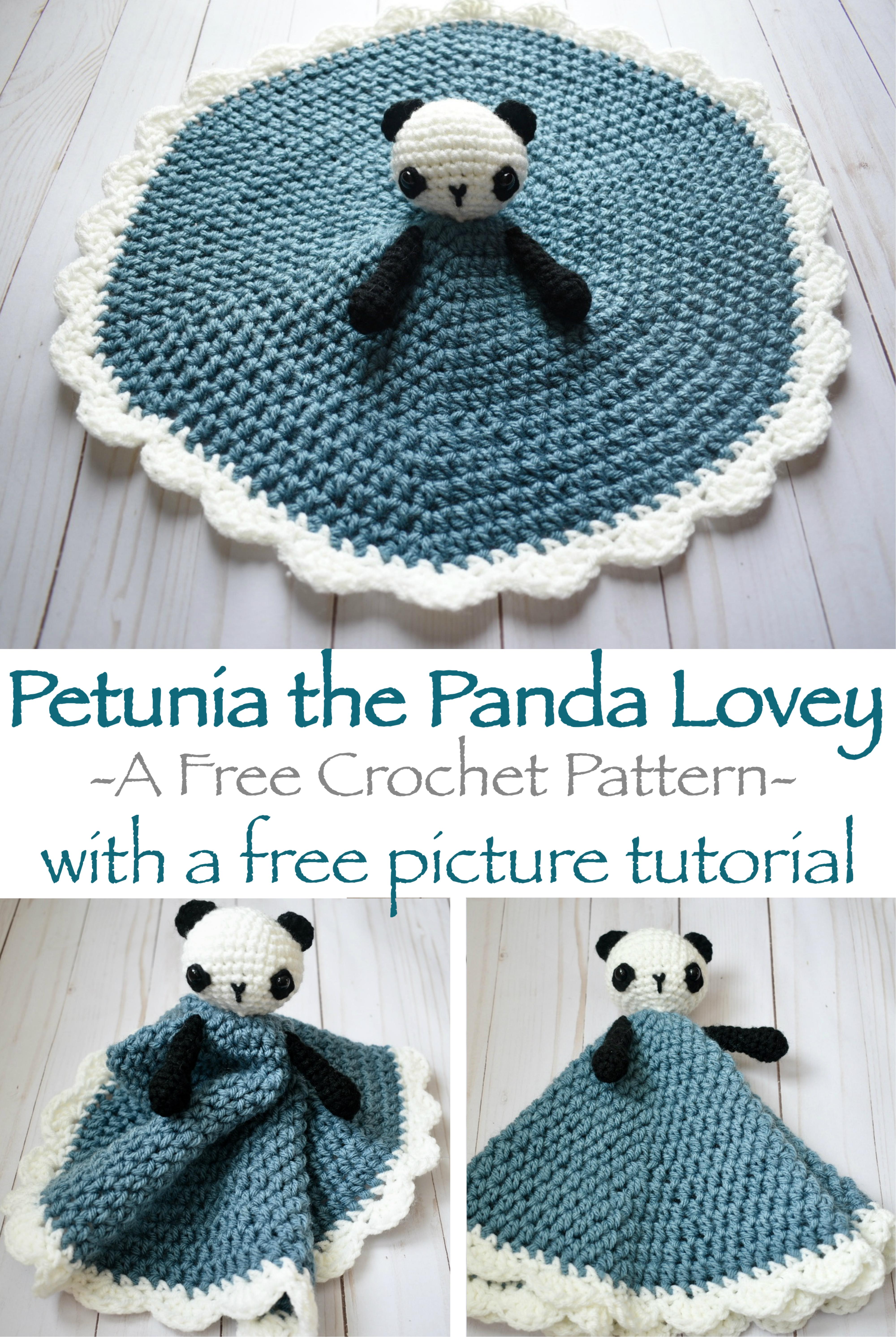 Petunia the Panda Lovey