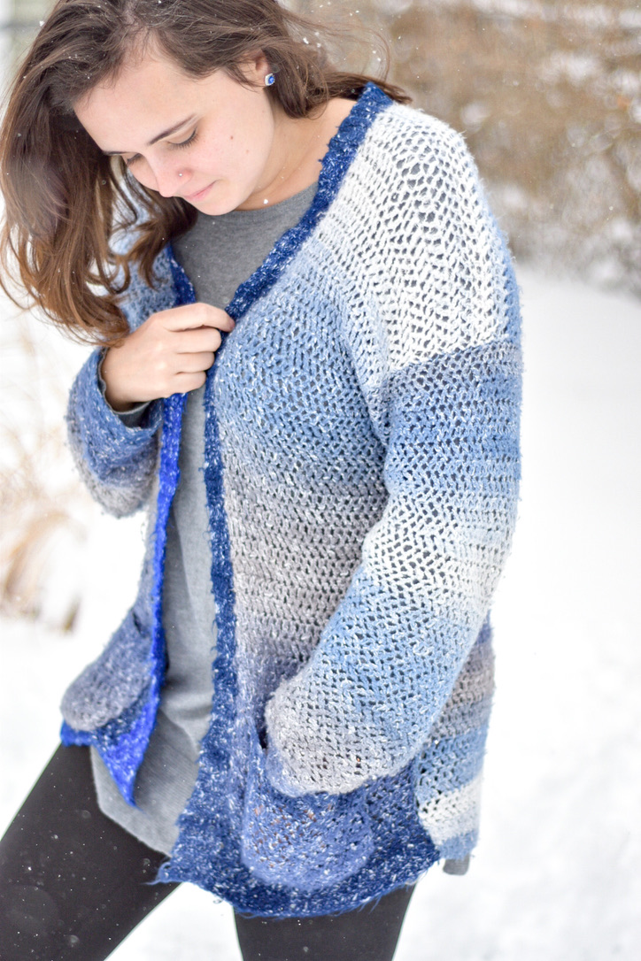 Mary's Cardigan- Free Crochet Pattern