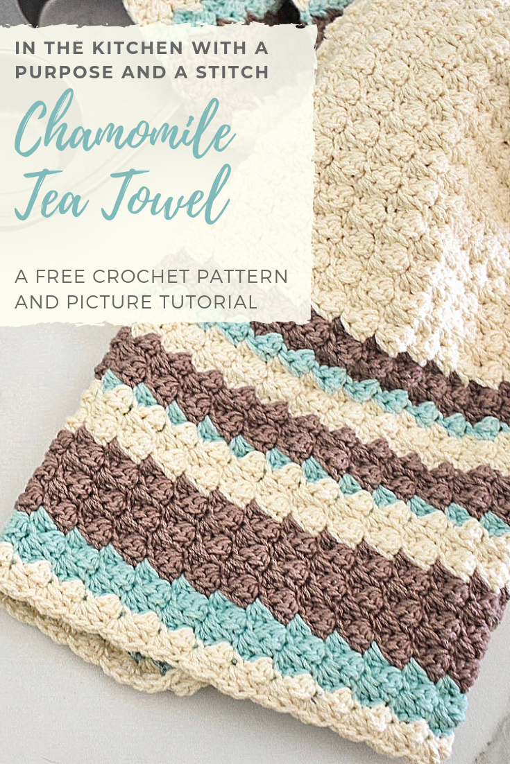 Chamomile Tea Towel