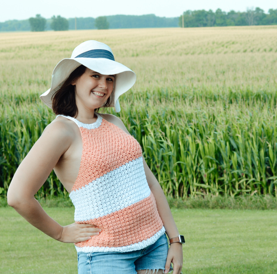 Summer's Breeze Top- FREE Pattern
