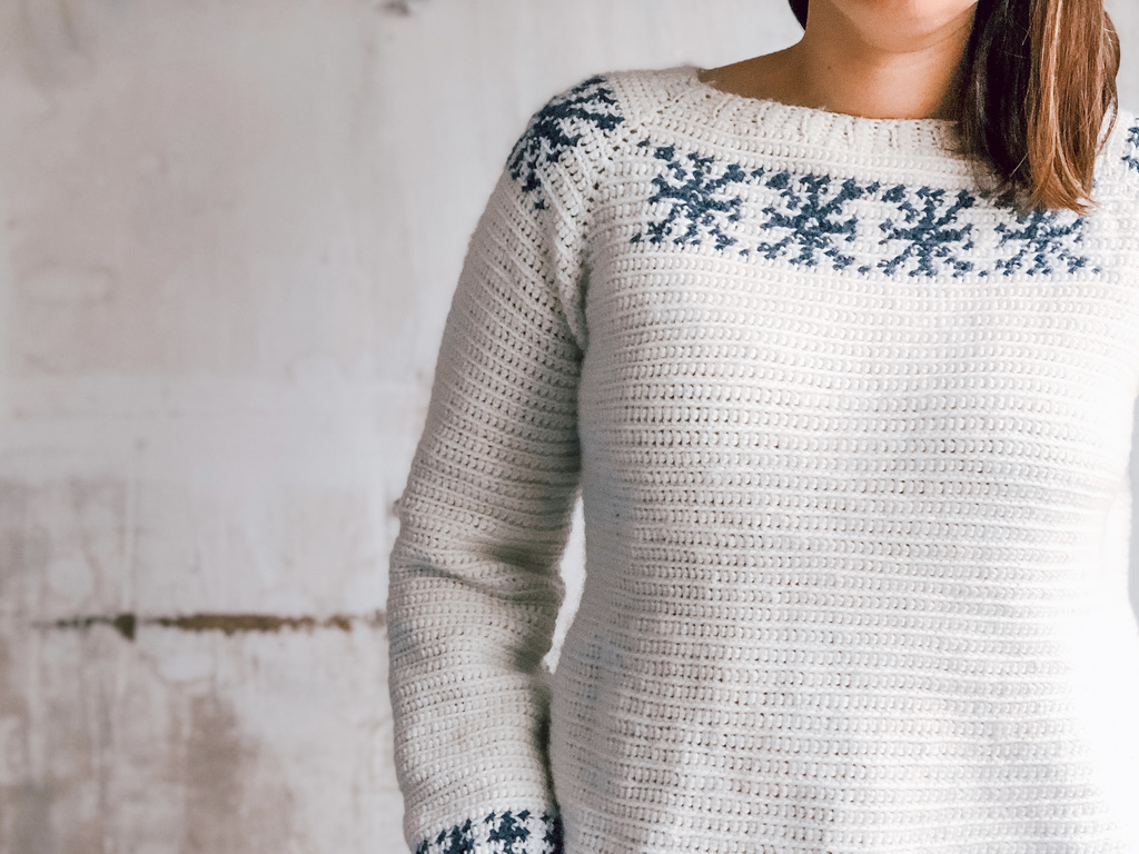 Snowfall Raglan- Blog Post